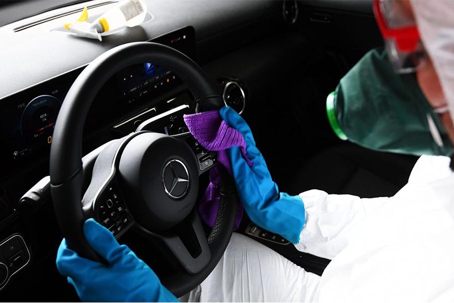 Как продизинфицировать свою машину